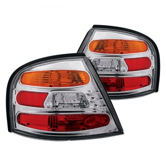 Ipcw Chrome Red Amber Euro Tail Lights