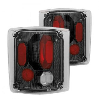 IPCW® - Carbon Fiber/Red Euro Tail Lights