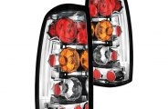 IPCW® - Crystal Clear Euro Tail Lights - Fleetside