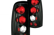 IPCW® - Bermuda Black Euro Tail Lights - Fleetside