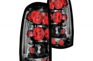 IPCW® - Platinum Smoke Euro Tail Lights - Fleetside