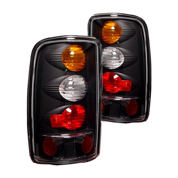 IPCW® - Black Amber/Red Euro Tail Lights