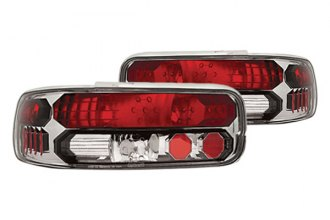 IPCW® - Chrome Euro Tail Lights with Black Trims