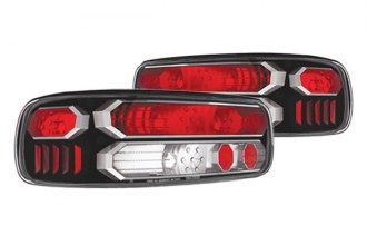 IPCW® - Bermuda Black Euro Tail Lights with Black Trims
