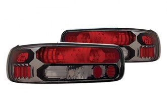 IPCW® - Platinum Smoke Euro Tail Lights with Black Trims