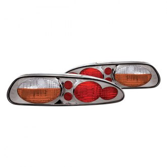 IPCW® - Chrome Amber/Red Euro Tail Lights