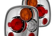 IPCW® - Crystal Clear Euro Tail Lights - Stepside