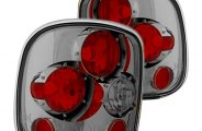 IPCW® - Platinum Smoke Euro Tail Lights - Stepside
