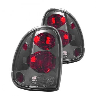 IPCW® - Black Red/Smoke Euro Tail Lights