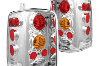 IPCW® - Crystal Clear Euro Tail Lights with Amber Turn Signal Lights