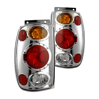 IPCW® - Chrome Red/Amber Euro Tail Lights