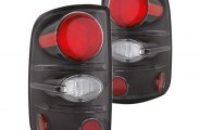 IPCW® - Bermuda Black Euro Tail Lights - LD Styleside