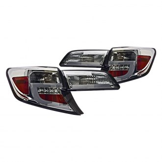 IPCW® - Chrome/Smoke Fiber Optic LED Tail Lights