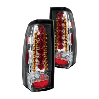 IPCW® - Crystal Clear LED Tail Lights with Amber Turn Signal Lights