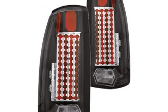 IPCW® - Bermuda Black LED Tail Lights with 44 LEDs