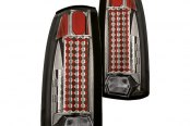 IPCW® - Platinum Smoke LED Tail Lights with 44 LEDs