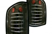 IPCW® - Bermuda Black Fiber Optic LED Tail Lights