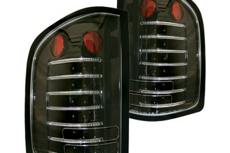 IPCW® - Bermuda Black Fiber Optic LED Tail Lights - 3500HD