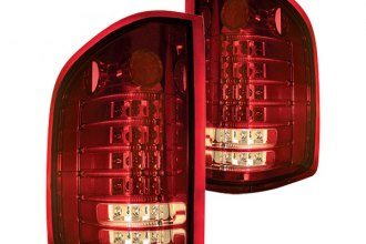 IPCW® - Ruby Red Fiber Optic LED Tail Lights - 3500HD