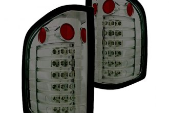 IPCW® - Platinum Smoke Fiber Optic LED Tail Lights - 3500HD