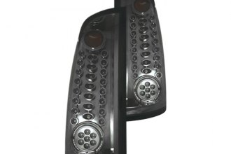 IPCW® - Platinum Smoke Fiber Optic LED Tail Lights - 1500
