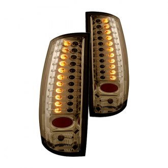 IPCW® - Chrome Amber/Smoke LED Tail Lights