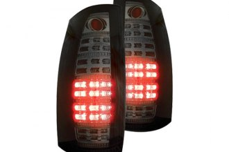 IPCW® - Bermuda Black Fiber Optic LED Tail Lights with Reverse Lights