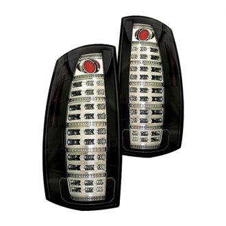 IPCW® - Black Fiber Optic LED Tail Lights