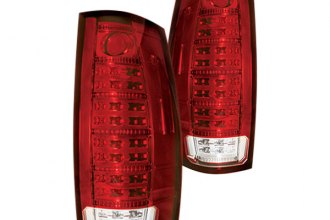 IPCW® LEDT-312CR - Ruby Red Fiber Optic LED Tail Lights with Reverse Lights