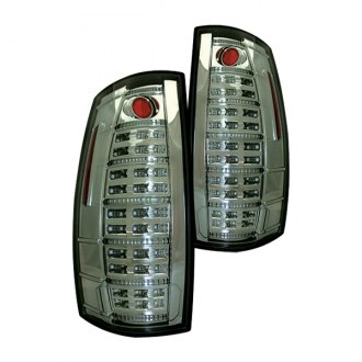 IPCW® - Platinum Smoke Fiber Optic LED Tail Lights with Reverse Lights