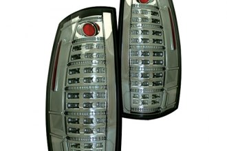IPCW® LEDT-312CS - Platinum Smoke Fiber Optic LED Tail Lights with Reverse Lights