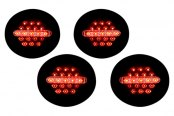 IPCW® - Midnight Onyx LED Tail Lights