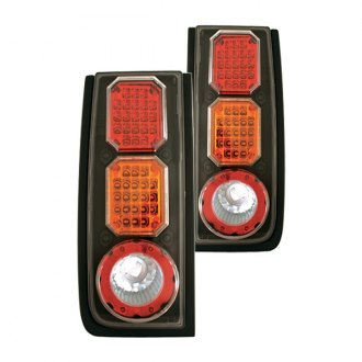 IPCW® - Black Red/Amber LED Tail Lights