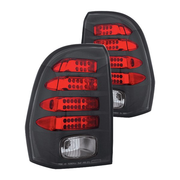 IPCW® - Bermuda Black/Red LED Tail Lights