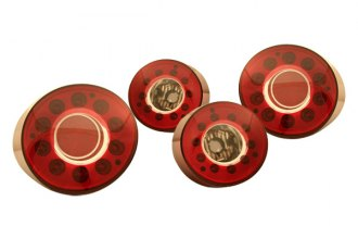 IPCW® - Ruby Red LED Tail Lights - 2DR