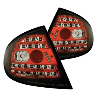 IPCW® - Chrome/Red LED Tail Lights