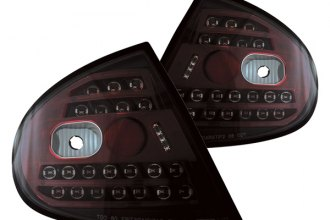 IPCW® - Bermuda Black LED Tail Lights - 4DR