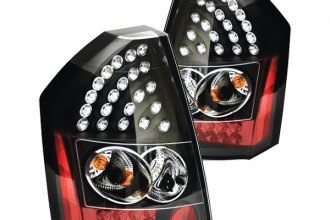 IPCW® - Bermuda Black LED Tail Lights - 300C