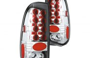 IPCW® - Crystal Clear LED Tail Lights - SD