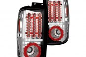 IPCW® - Crystal Clear LED Tail Lights