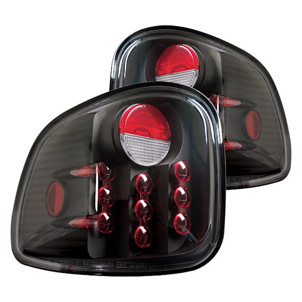 IPCW LEDT-501FC Crystal Clear LED Tail Lamp Pair