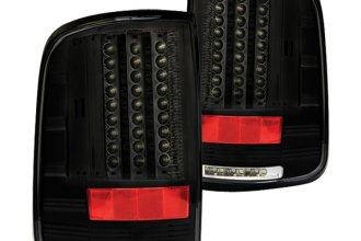 IPCW® - Bermuda Black LED Tail Lights with Reverse Lights G2