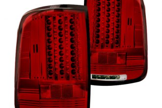 IPCW® - Ruby Red LED Tail Lights with Reverse Lights G2