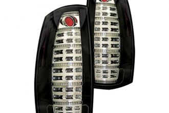 IPCW® - Black Fiber Optic LED Tail Lights with Reverse Lights