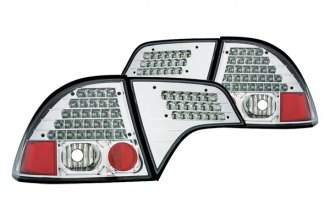 IPCW® - Crystal Clear LED Tail Lights - 4DR