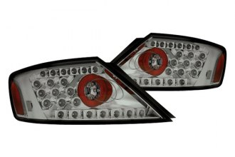 IPCW® - Platinum Smoke LED Tail Lights - 2DR
