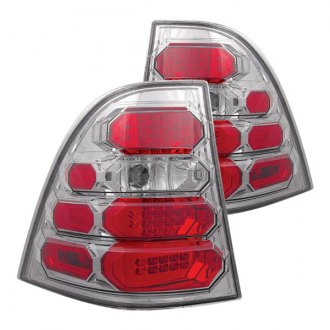 IPCW® - Chrome Red/Platinum Smoke LED Tail Lights