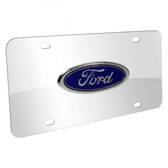 iPickimage® - License Plate with Ford Emblem