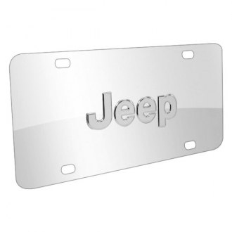 iPickimage® - License Plate with Jeep Logo