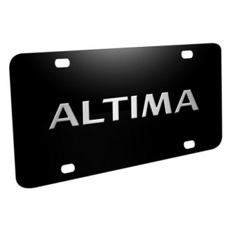 iPickimage® - License Plate with Altima Logo